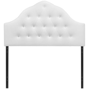 Modway Sovereign Tufted Panel Headboard in White