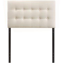 Modway Emily Panel Headboard in Ivory