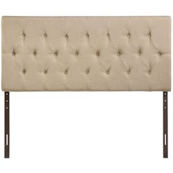 Modway Clique Queen Tufted Panel Headboard