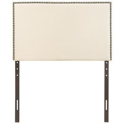 Modway Region Panel Headboard in Ivory 1