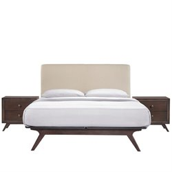 Modway Tracy 3 Piece Queen Bedroom Set