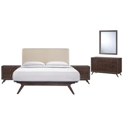 Modway Tracy 5 Piece Queen Bedroom Set