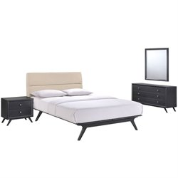 Modway Addison 4 Piece Queen Bedroom Set