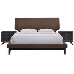 Modway Bethany 3 Piece Panel Bedroom Set