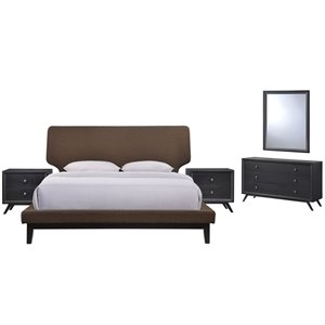 Modway Bethany 5 Piece Panel Bedroom Set 1