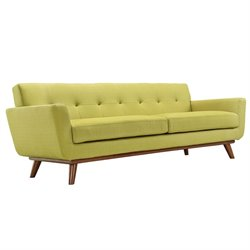 Modway Engage Sofa in Wheatgrass