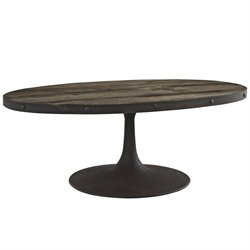 Modway Drive Oval Coffee Table