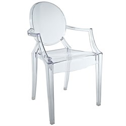 Modway Casper Plastic Kids Chair