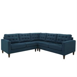 Modway Empress 3 Piece Tufted Sectional Set