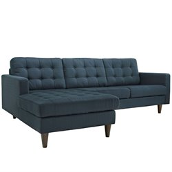 Modway Empress Tufted Upholstered Sectional
