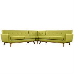 Modway Engage L-Shaped Sectional
