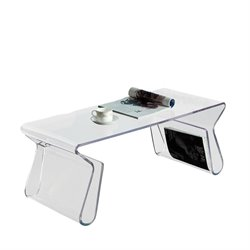 Modway Magazine Acrylic Coffee Table
