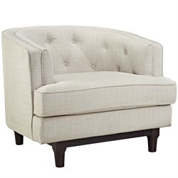 Modway Coast Fabric Accent Arm Chair