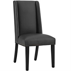 Modway Baron Faux Leather Dining Side Chair