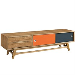 Modway Concourse TV Stand in Natural