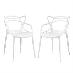 Modway Entangled Dining Side Chair (Set of 2)
