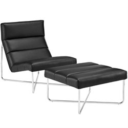 Modway Reach Lounge Chair and Ottoman