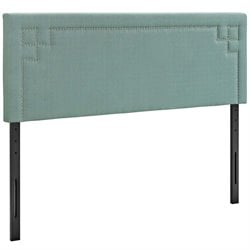 Modway Josie Fabric Upholstered Headboard in Laguna