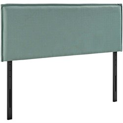 Modway Camille Fabric Upholstered Headboard in Laguna