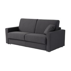 Pezzan Breeze Full Pull Out Sofa Bed in Dark Gray