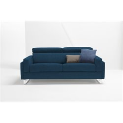 Pezzan Firenze Queen Pull Out Sofa Bed in Ocean Blue