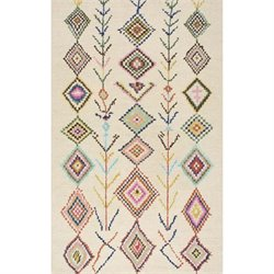 Nuloom 5' x 8' Hand Tufted Belini Area Rug in Tan