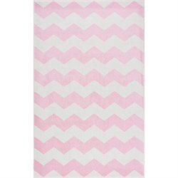 Nuloom 7' 10 x 10' 10 Aponte Chevron Rug in Pink
