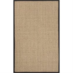 Jaipur Rugs Basket Weave 2' x 3' Naturals Seagrass Rug in Ivory