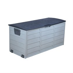 W Unlimited Voyage Outdoor Storage Cabinet in Gray
