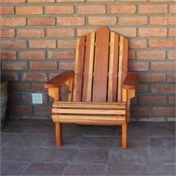 Best Redwood Wood Adirondack Chair