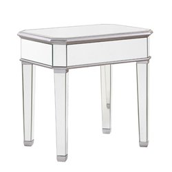 Elegant Lighting Chamberlan Mirrored End Table