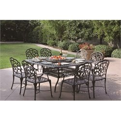 Darlee Catalina 10 Piece Patio Dining Set with in Antique Bronze