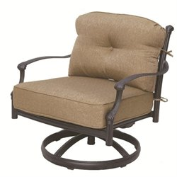 Darlee Camino Real Patio Rocking Chair in Antique Bronze (Set of 2)