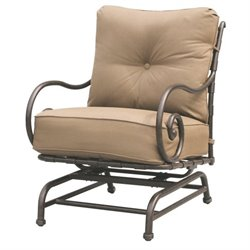 Darlee Malibu Patio Rocking Chair in Antique Bronze (Set of 2)