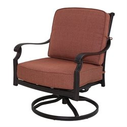 Darlee St. Cruz Patio Rocking Chair in Antique Bronze (Set of 2)