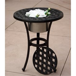 Series 30 Patio End Table with Ice Bucket