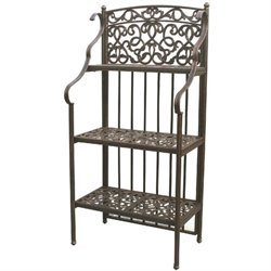 Darlee Patio Bakers Rack in Antique Bronze