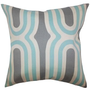 the pillow collection square persis geometric throw pillow a - The Pillow Collection