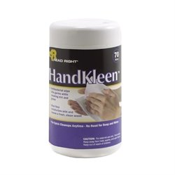 Read Right HandKleen Disposable Wipes