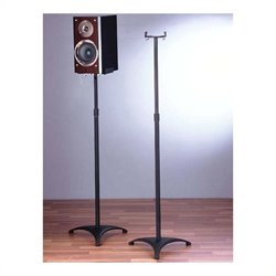 VTI Speaker Stand in Black (Set of 2)