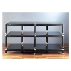 VTI BL Series TV Stand - Black / Black / Black