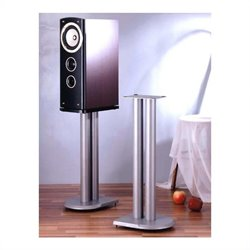 VTI UF Series Speaker Stands Pair in Grey Silver