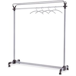 Alba Upper Shelf Double-sided Garment Rack