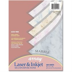 Pacon Array Marble Bond Paper (Set of 500)