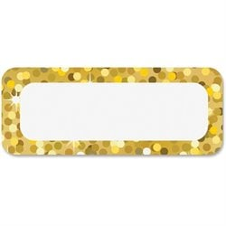 Ashley Prod. Gold Sparkle Magnetic Nameplate