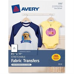 Avery Stretchable Fabric Transfer