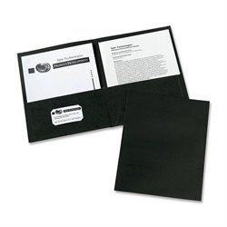 Avery 2-Pocket Textured Paper Stock Folders