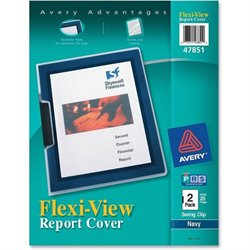 Avery Flexi-View Swing Clip Report Covers