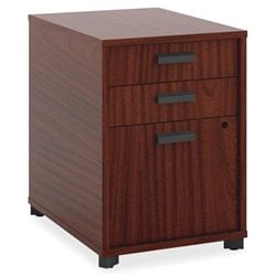 Basyx Manage Series Chestnut Freestanding Pedestal