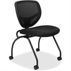 Basyx VL302 Mesh Back Nesting Chair w/o Arms